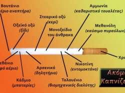 Ουσίες που εμπεριέχει ο καπνός